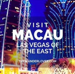 Visit Macau: Las Vegas of the East